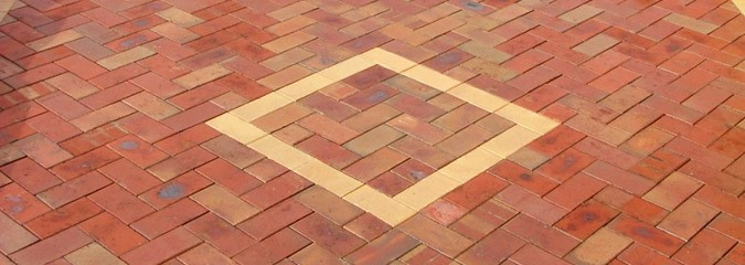 Square paving design